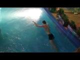 Казань , аквапарк  парень утонул в бассейне!